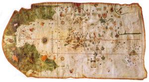 La carta náutica de Juan de la Cosa (1500)