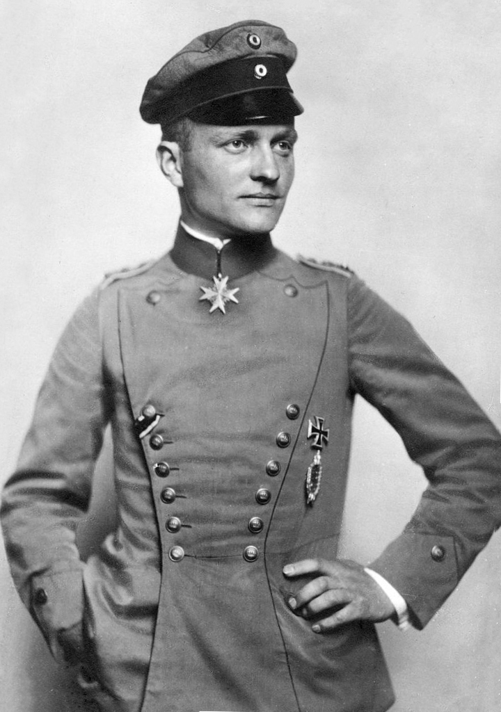 Retrato de Manfred von Richthofen (c. 1917)