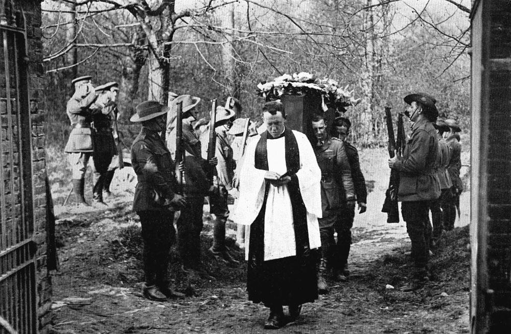 Funeral del Barón Rojo (22 de abril de 1918)