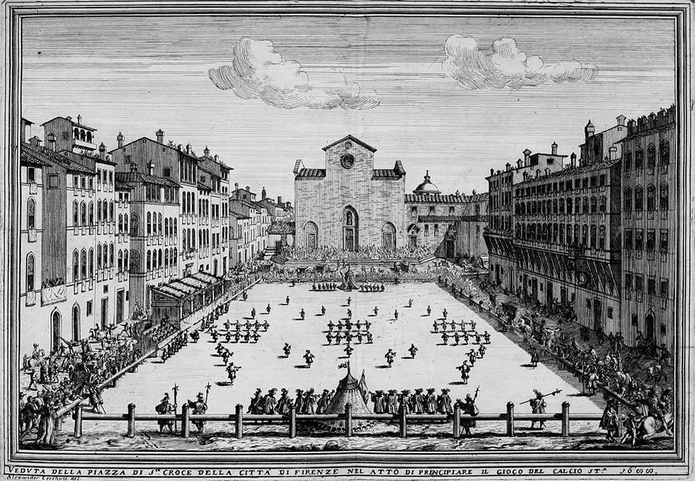 Calcio fiorentino (1688)