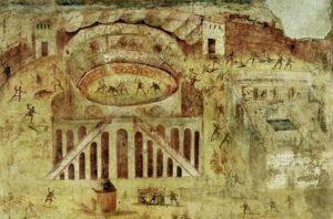 El disturbio de Pompeya del año 59