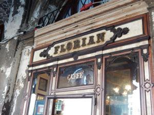 El Caffè Florian de Venecia, abierto desde 1720