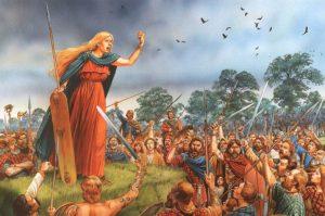 Boudica, reina de los icenos