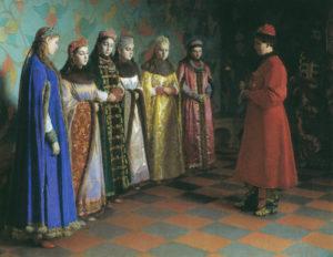 Los Concursos de Novias de los zares