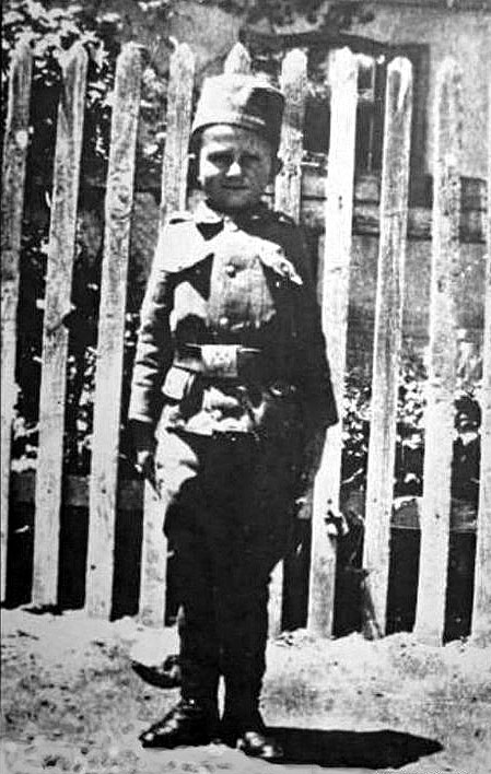 Momčilo Gavrić en Corfú (1916)