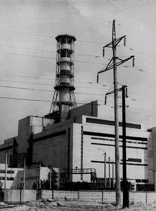 Reactor 4 de Chernóbil antes del accidente