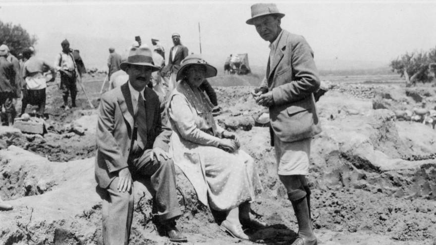 Agatha Christie en Ur (Irak)
