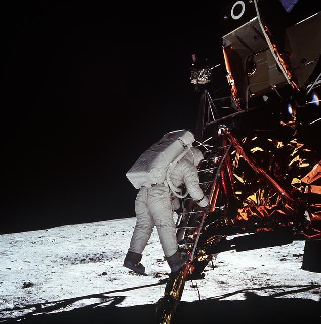 Descenso de Aldrin