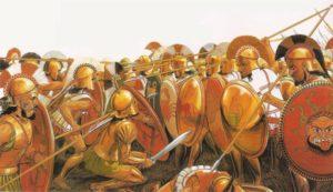 El combate hoplítico